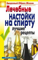 Лечебные настойки на спирту. Лучшие рецепты