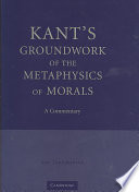 a literary analysis of groundwork of the metaphysics of morals The paperback of the groundwork of the metaphysics of morals by immanuel kant's groundwork of the metaphysic of morals, paton writes in analysis.